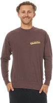 The Critical Slide Society Zephyr Mens Crew Sweat Red