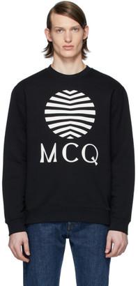 McQ Black Logo Sweatshirt
