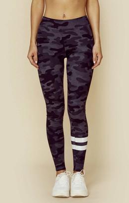 Sundry Camo Yoga Pant Stripes