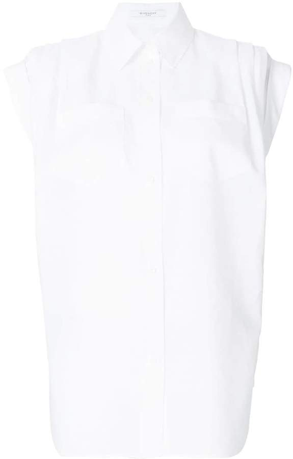 Givenchy structured shoulder shirt
