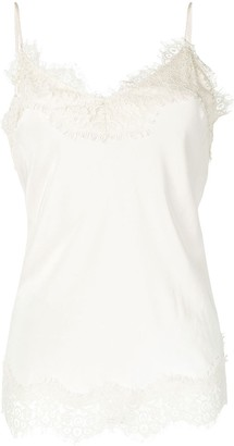 Zimmermann Lace Inserts Cami Top