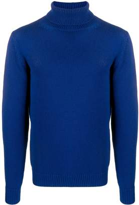 Roberto Collina turtleneck ribbed knit sweater