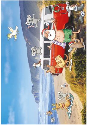 Simson Galbraith Australiana Scenic Boxed Christmas Cards, Multiple Designs - 12