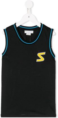 Stella Mccartney Kids S patch mesh vest