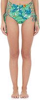 Mara Hoffman Women's Lace-Up High-Waist Bikini Bottom-WHITE