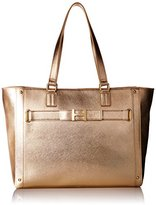 Tommy Hilfiger TH Belted Tote Top Handle Bag