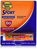 Banana Boat Sport Spf 50 Sunscreen Lip Balm, 6 Count