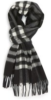 Burberry 'Giant Icon' Cashmere Scarf