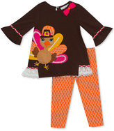 Rare Editions 2-Pc. Turkey Tunic and Leggings Set, Baby Girls (0-24 months)