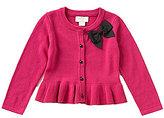 Kate Spade Baby Girls 12-24 Months Bow Peplum Cardigan