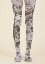 ModCloth Better With Blossoms Tights in S/M