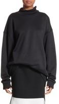 Marques Almeida Women's Marques'Almeida Oversize Mock Neck Sweatshirt