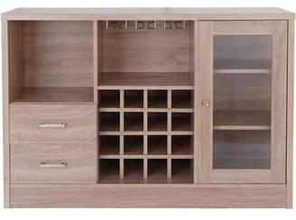 Ebern Designs Pyburn Wooden Bar Cabinet Ebern Designs