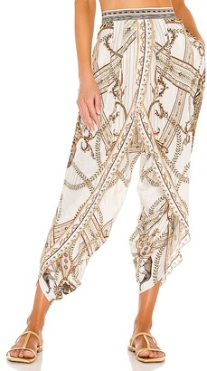Camilla Gathered Wrap Front Trouser