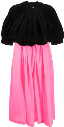 Comme des Garcons High-Waisted Pleated Dress