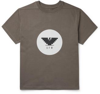 Rick Owens Printed Cotton-Jersey T-Shirt
