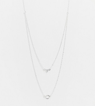 Kingsley Ryan multi row necklace in sterling silver