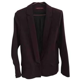 Comptoir des Cotonniers \N Burgundy Cotton Jacket for Women