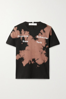 Proenza Schouler White Label Tie-dyed Cotton-jersey T-shirt