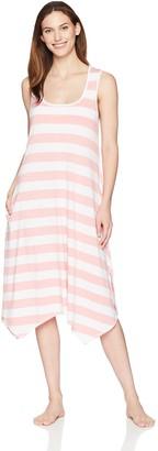 Arabella Women's Sleeveless Rayon Slub Nightgown