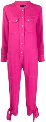 Isabel Marant Button Front Jumpsuit