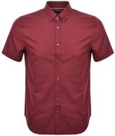 Lacoste Short Sleeved Shirt Red