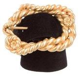 Chanel Suede Waist Belt