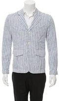 Comme des Garcons Striped Three-Button Sport Coat w/ Tags