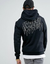 10 Deep Hoodie With Back Print