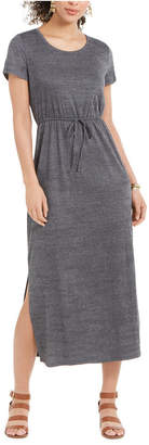 Style&Co. Style & Co Petite Drawstring-Waist Maxi Dress