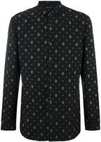 Just Cavalli geometric print shirt - men - Cotton/Polyester - 48
