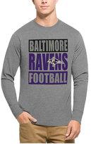 '47 Men's Baltimore Ravens Compton Club Long-Sleeve T-Shirt