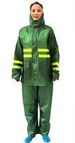 4Chiclife Hi Viz Waterproof Rainsuit Set High Vis Visibility Jacket & Trouser M