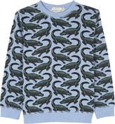 Stella McCartney Crocodile cotton jumper 4-14 years
