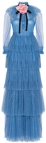 Gucci Ruffled Tulle Gown