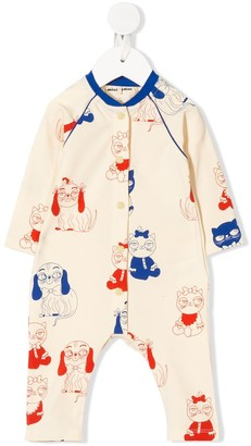 Mini Rodini Mini Baby Print Jumpsuit