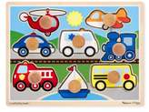 Melissa & Doug Toddler Vehicles Jumbo Knob Puzzle