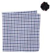 Original Penguin Nolisse Plaid Pocket Square & Lapel Pin Set