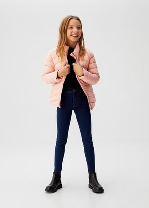 MANGO Quilted jacket pink - 6 - Kids