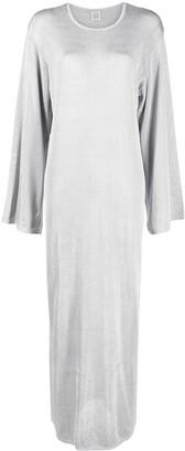Totême Metallic Jersey Maxi Dress