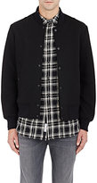 Rag & Bone Men's Bonded Jersey Varsity Jacket-BLACK