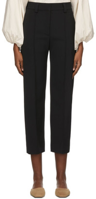 Studio Nicholson Black Tropical Wool Sato Trousers