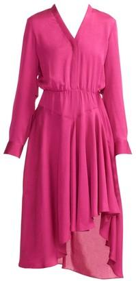 Maje Rushia Asymmetrical Dress