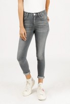 Gold Sign Virtual Highrise Crop Jean
