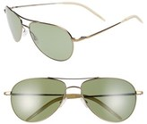 Oliver Peoples 'Benedict' 59mm Polarized Aviator Sunglasses