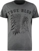 True Religion Print Tshirt Jet Black