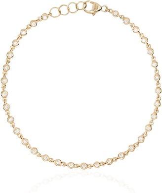 Dana Rebecca Designs 14kt gold Lulu diamond bezel bracelet