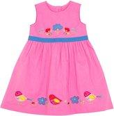 Jo-Jo JoJo Maman Bebe Birdie Dress (Toddler/Kid) - Orchid-4-5