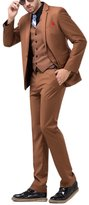 Tsui-Fashion Men's Casual Slim Fit One Button Suits Three Piece XZ00220CO