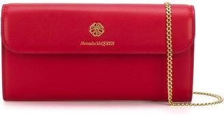 Alexander McQueen logo plaque cross body bag